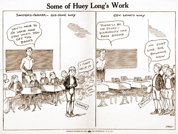 Huey Long\u0027s Programs - Education