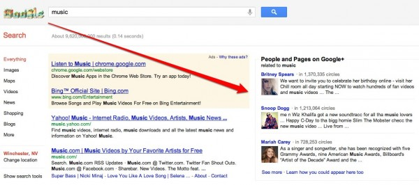 music Google Search