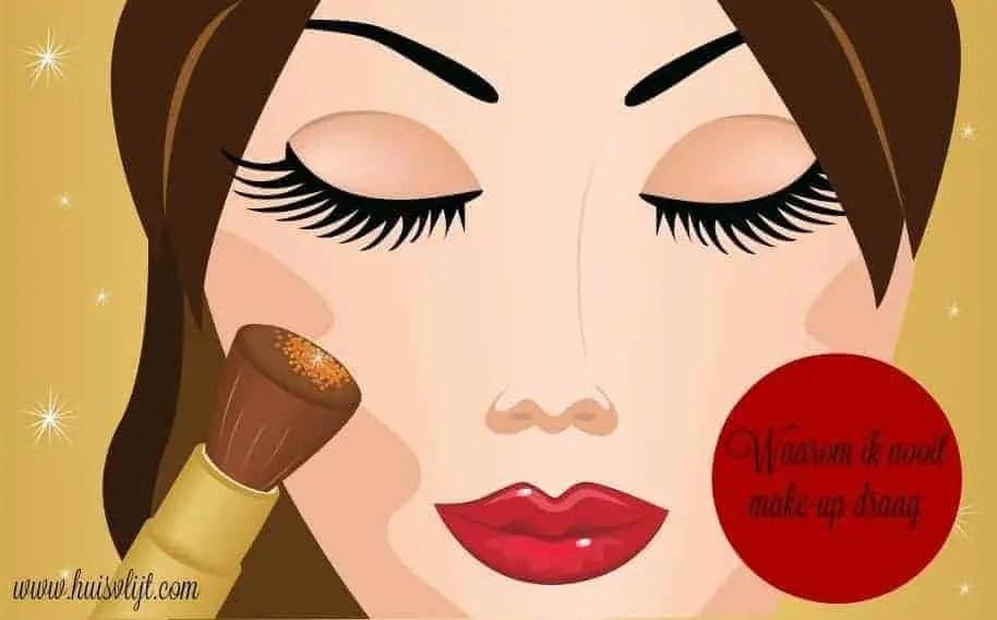 Waarom ik nooit make-up draag