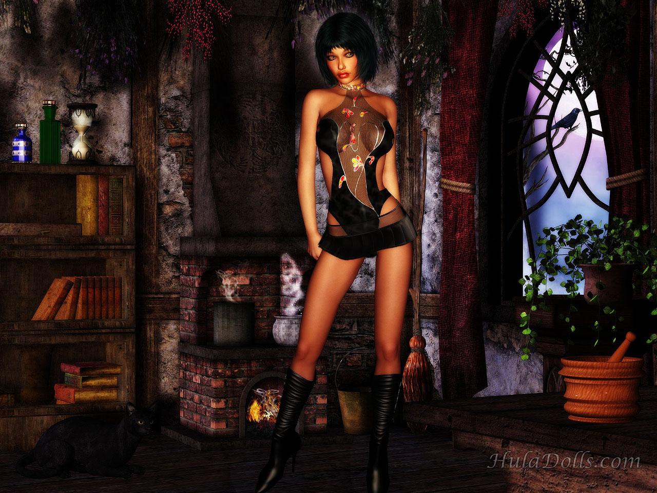 Hula Girl Wallpaper Vampire Wallpapers Page 1
