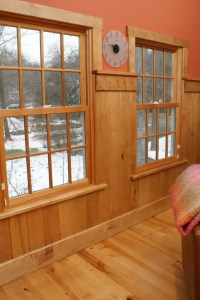 Using Tongue and Groove Wall Paneling