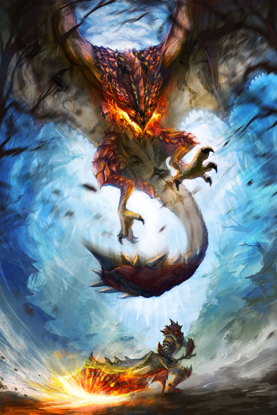 Attack On Titan Cute Wallpaper Human For Scale 187 Rathalos Descends