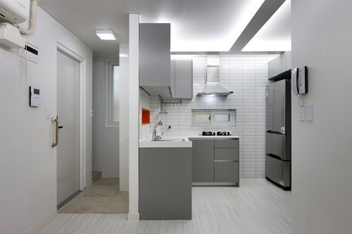 Medium Of Small Modern Apartment