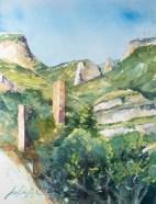 Château du Plagnol. La Malène.