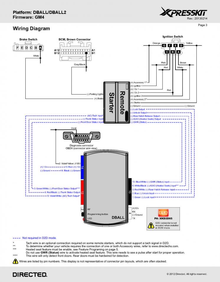 Wiring diagram and a question for Viper alarm owners - Hummer