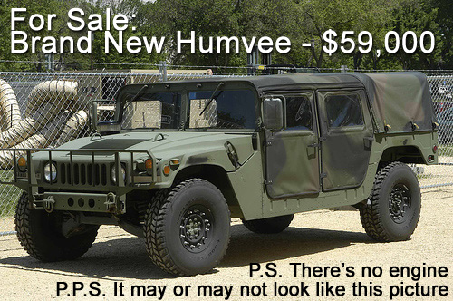 AM General Re-Entering Civilian Vehicle Marketplace with Humvee C