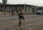 وادی راجگل، تیراہ میں فوجی آپریشن شروع