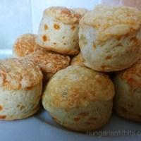 Cheese Scones - Sajtos Pogácsa