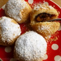 Hungarian plum dumplings - szilvásgombóc