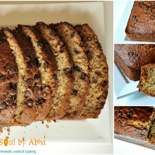Banana chocolate chip bread""