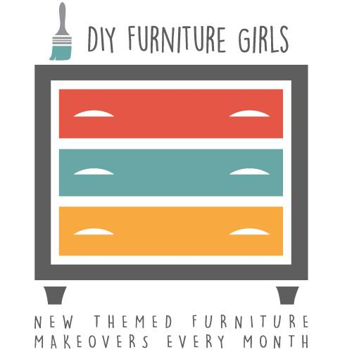 Themed monthly furniture makeover from top bloggers.