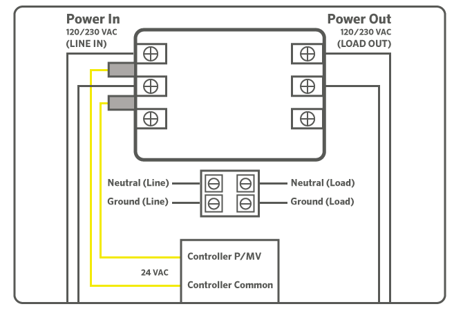 hunter pump start relay wiring diagram