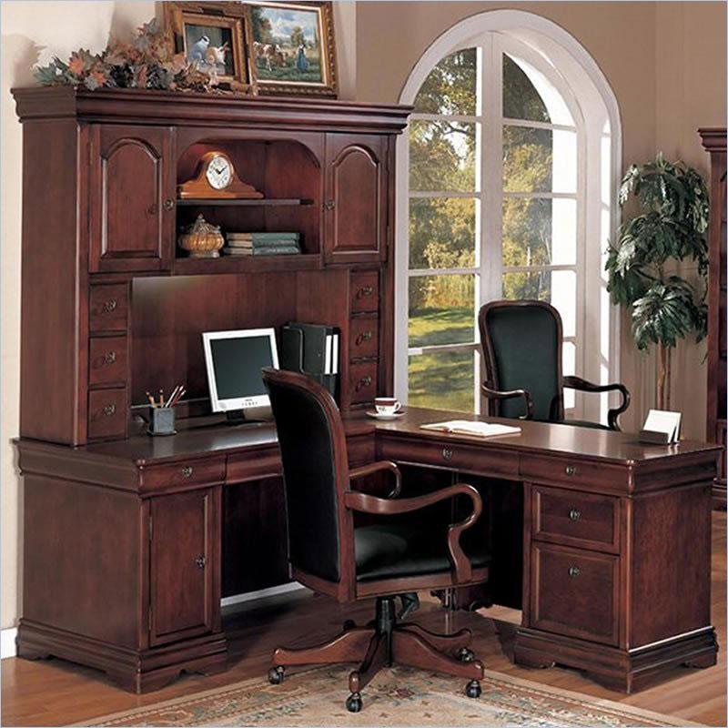 Rue De Lyon Traditional Home Office Desk - Hunter Office Furniture