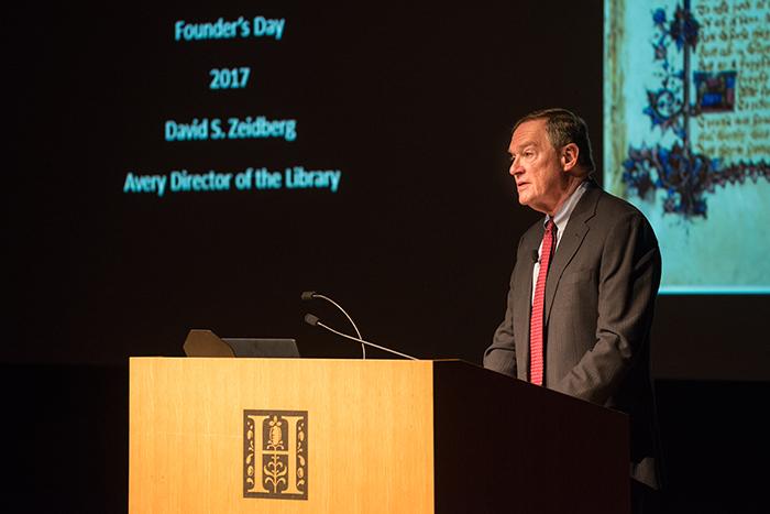 David Zeidberg, Quintessential Research Librarian The Huntington
