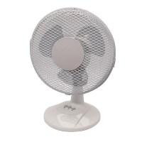 Small Office Desk Fan 9 inch 230mm Q Connect - HuntOffice.ie