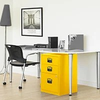 Funky Coloured Filing Cabinets - HuntOffice.ie