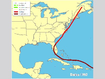Hurricanes Science and Society 1960- Hurricane Donna