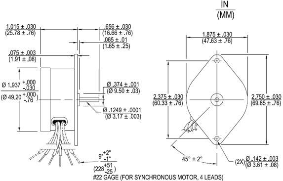 A, AB Direct Drive Permanent Magnet AC Synchronous Motors