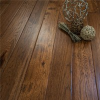 """Discount 5"""" x 3/4"""" Hickory Character Prefinished Solid ..."""