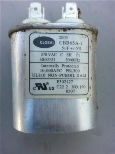 Buying And Replacing A Furnace Capacitor \u2013 HVAC How To