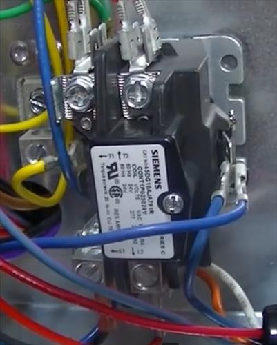 Replacing a Relay Contactor on a Heat Pump \u2013 HVAC How To
