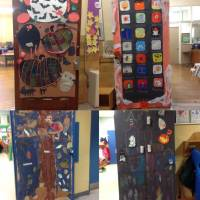 Fall door decoration contest   A.M. Cunningham Elementary ...