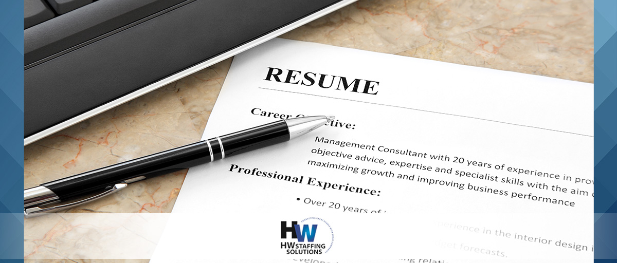 5 Items Every Well-Written Resume Needs
