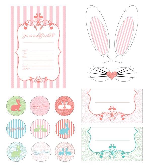 Darling Vintage Easter Brunch {+ Printables}   Hostess with the