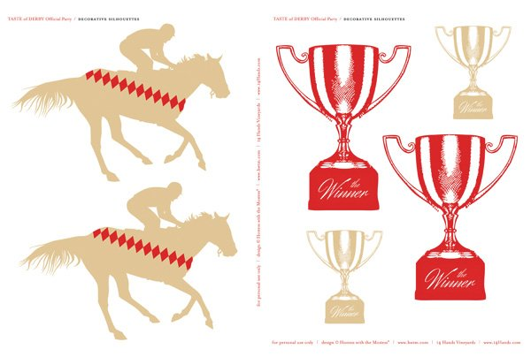 FREE Kentucky Derby Party Printables   Hostess with the Mostess®