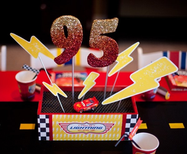 Super Cool Disney Pixar Cars Birthday Party   Hostess with the Mostess®
