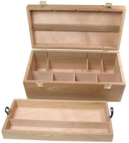Buy Art Alternatives Wood Box Supply Chest