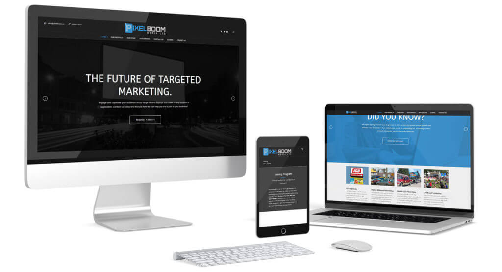 PixelBoom Media Hybrid Media - Responsive Media