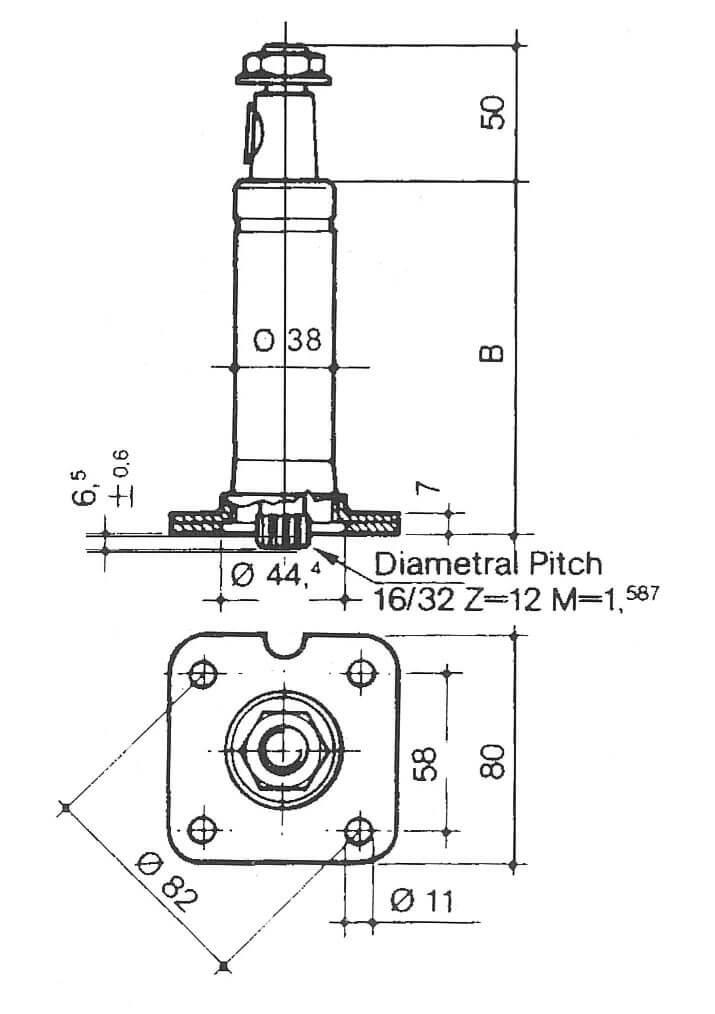 porsche 944 starter Schaltplang
