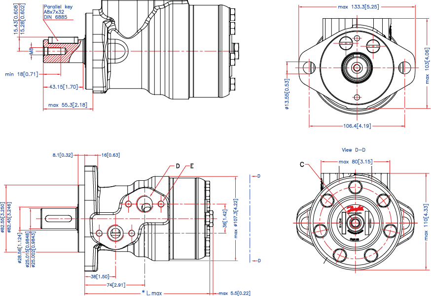 semi Schema moteur