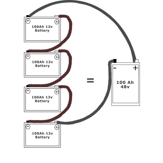 series parallel battery wiring diagram