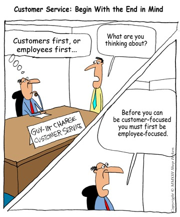 Customer Service \u2013 Start with the End in Mind