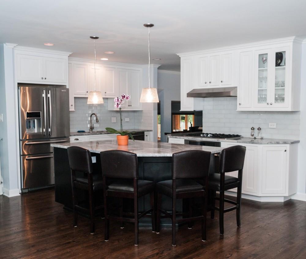 split level renovation split level kitchen remodel Split Level Renovation Kitchen