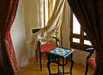 Window Treatments Nook Area