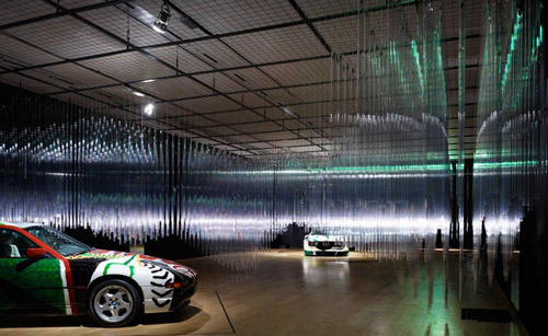 "Image of BMW Art Car Exhibition ""Transparent Speed"""