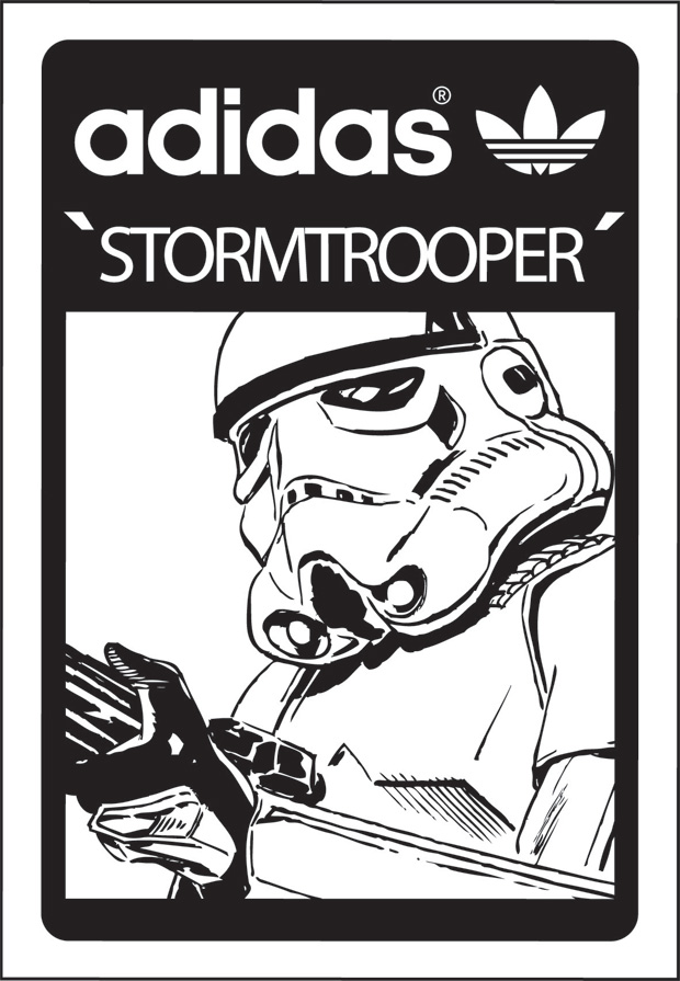Image of Star Wars x adidas Originals 2010 Spring/Summer Annoucement