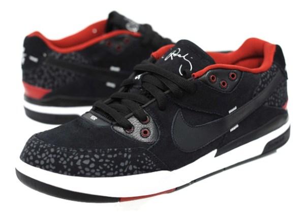 nike sb zoom paul rodriguez iii black red 1 Nike SB Zoom Paul Rodriguez (P Rod) III Black/Red