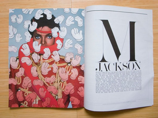 kaws michael jackson cover interview magazine KAWS x Michael Jackson Cover for Interview Magazine