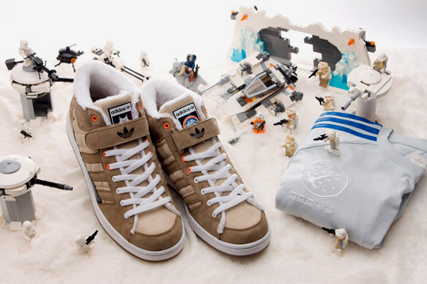 "Image of CLOT x Star Wars x adidas Originals ""Hoth"" Super Skate High"