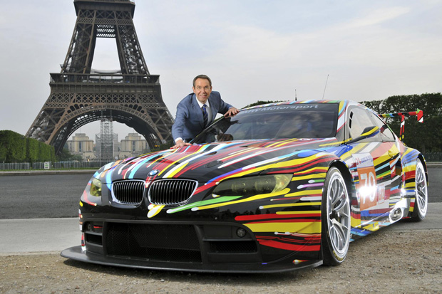 Image of BMW Art Car by Jeff Koons
