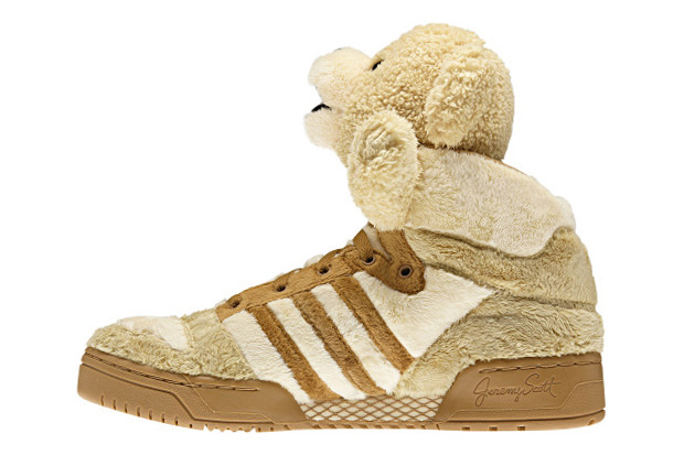 Jeremy Scott X Adidas Originals By Originals Js Bear Brown