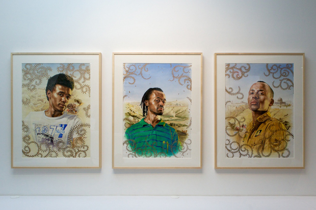 "Image of Kehinde Wiley ""The World Stage: Israel"" @ Roberts & Tilton Recap"
