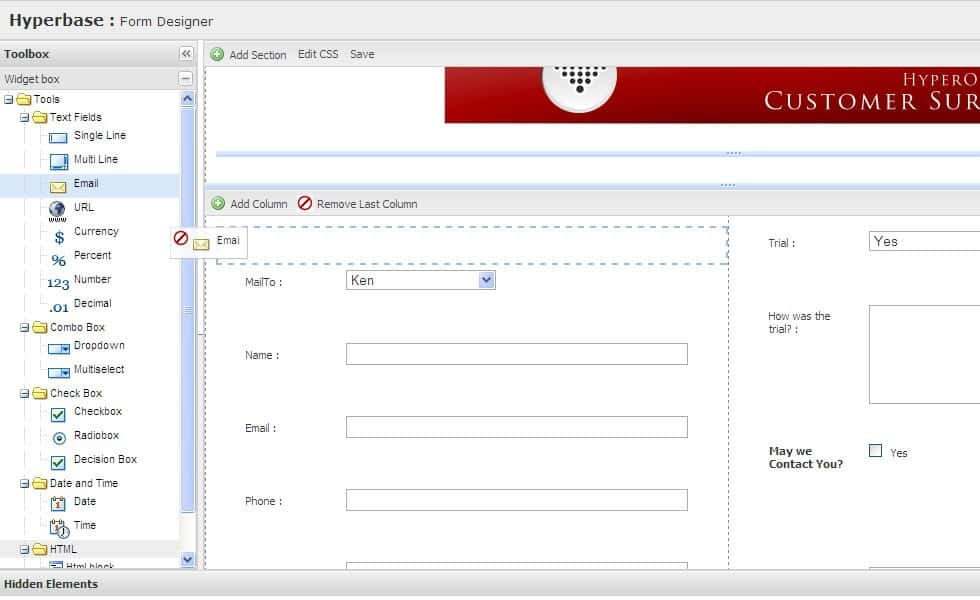 Online Forms Quickly Build Web Forms, Webforms made easy HyperOffice