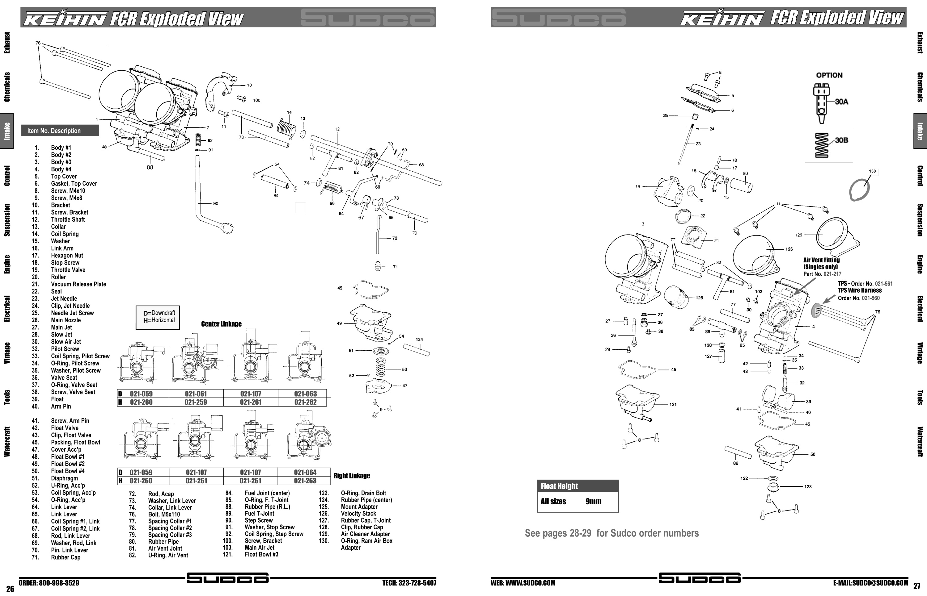 keihin carbs schematic