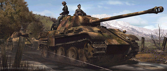 3d Panther Wallpapers Panther Ausf G By Gareth Hector Artwork No Scale