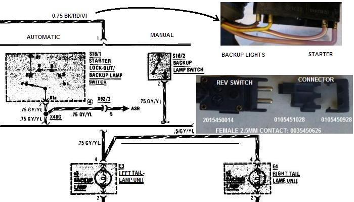 Wiring Diagram For Reverse Mercedesbenz Forum - Wiring Diagrams